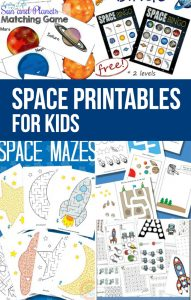 Welcome to this amazing post! It has the best space printables for kids! Take a look at this list and be sure to secure them for your next outer space unit!