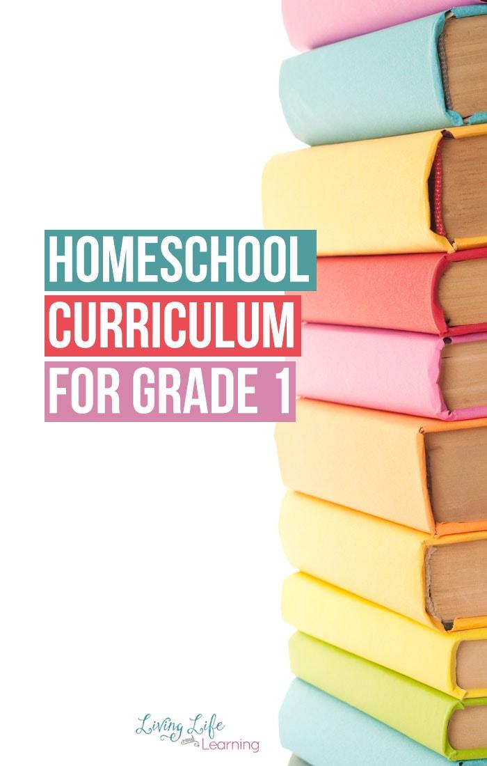 Homeschool Curriculum for Grade 1