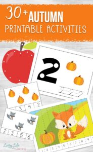 Printable autumn activities for kids