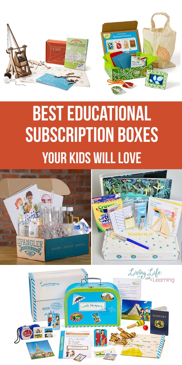 Want a fun project with no mess and no prep time? Want a gift that will be fun and educational? These Best Educational Subscription Boxes Your Kids Will Love will be a huge hit for your family.