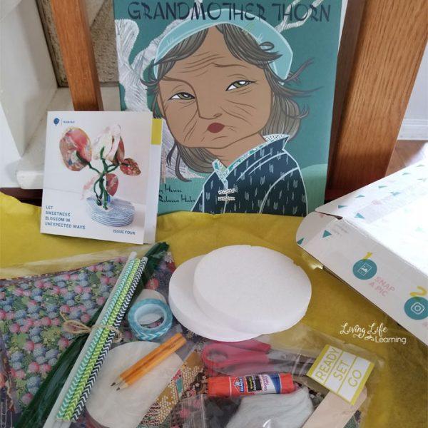 Kids lit art subscription box