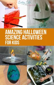 Halloween is always a lot of fun. It's not just about the candy. It's about costumes and hands-on activities. So why not include some educational ideas into the mix? In this post, we have amazing Halloween Science activities! You and your kids will be wowed to no end!