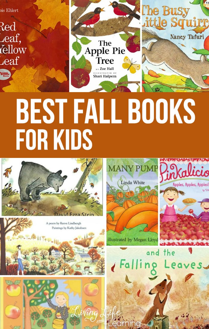 Take a look at our list of super awesome and fun Fall books for kids! It is always a must to include some good books with the change of the seasons. Here are some great titles!