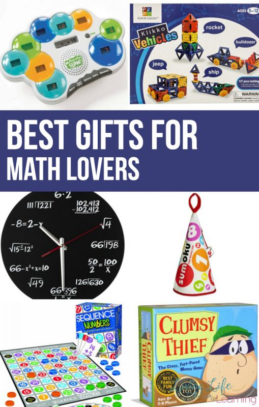 The best gifts for math lovers list gives you some creative gift ideas for math lovers that they'll love because only they would appreciate it.