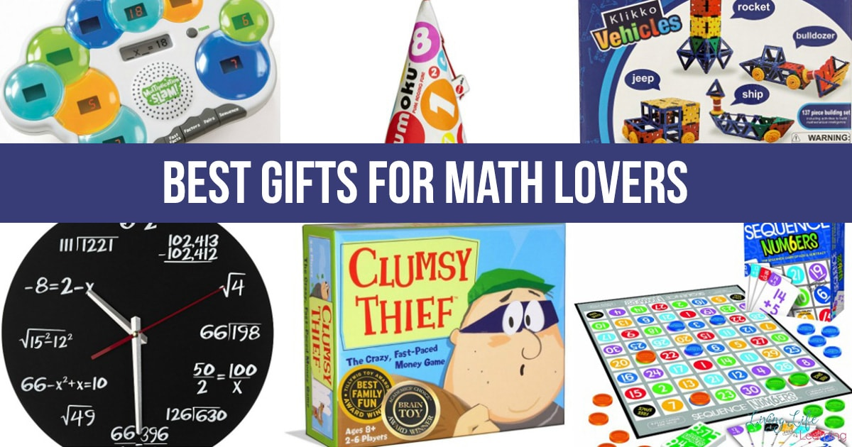Best Gifts For Math Lovers