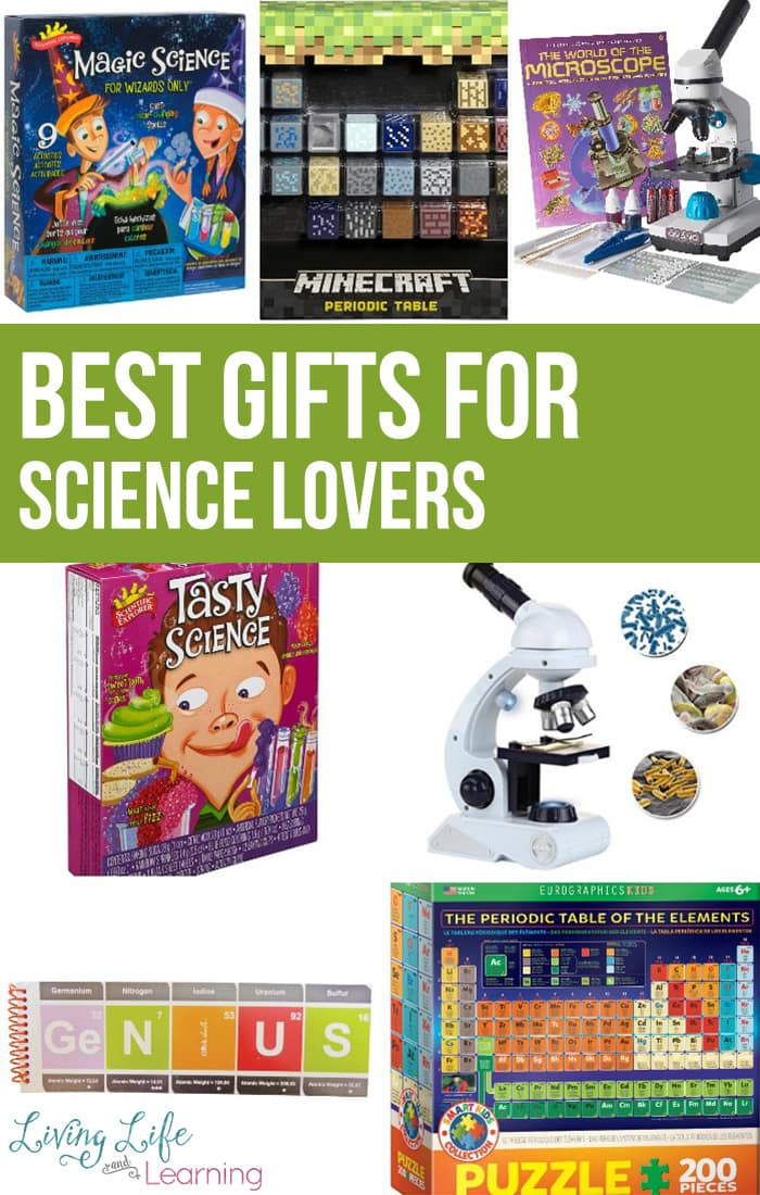 A list of best gifts for science lovers to spark your child's creative and satisfy their curiosity, perfect gift ideas for science lovers.