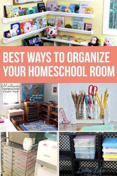 Best Ways to Organize Your Homeschool
