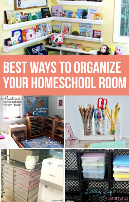 From personal experience I know that organizing your homeschool is crucial. These are my favorite ways to organize your homeschool so your kids can rise to their full potential with no distractions!