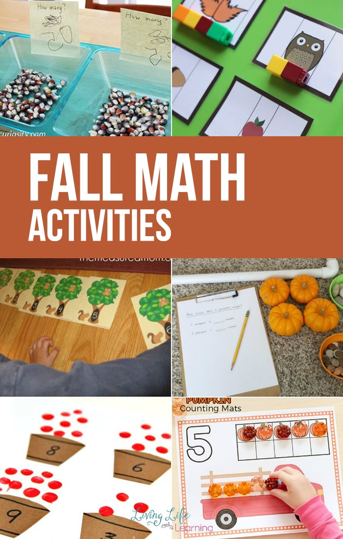 Interactive Fall Math Activities