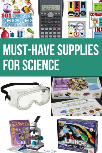 Must-have Supplies for Science