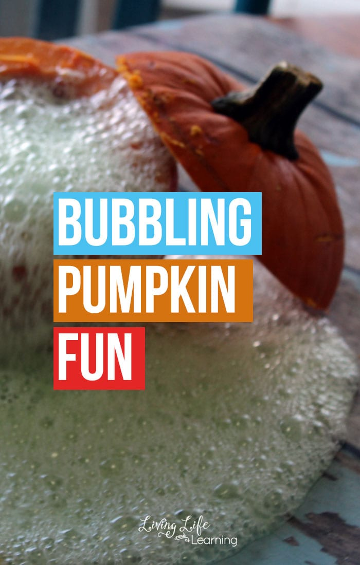Bubbling Pumpkin Experiment