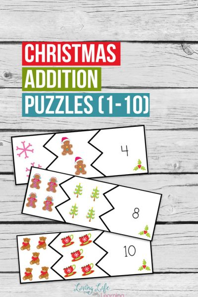 Christmas Addition Puzzles