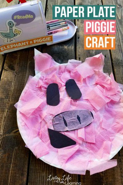 Paper Plate Piggie Craft