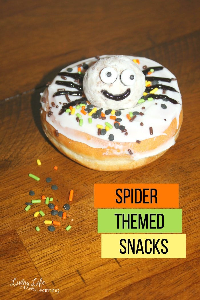 Ideas for Spider Themed Snacks