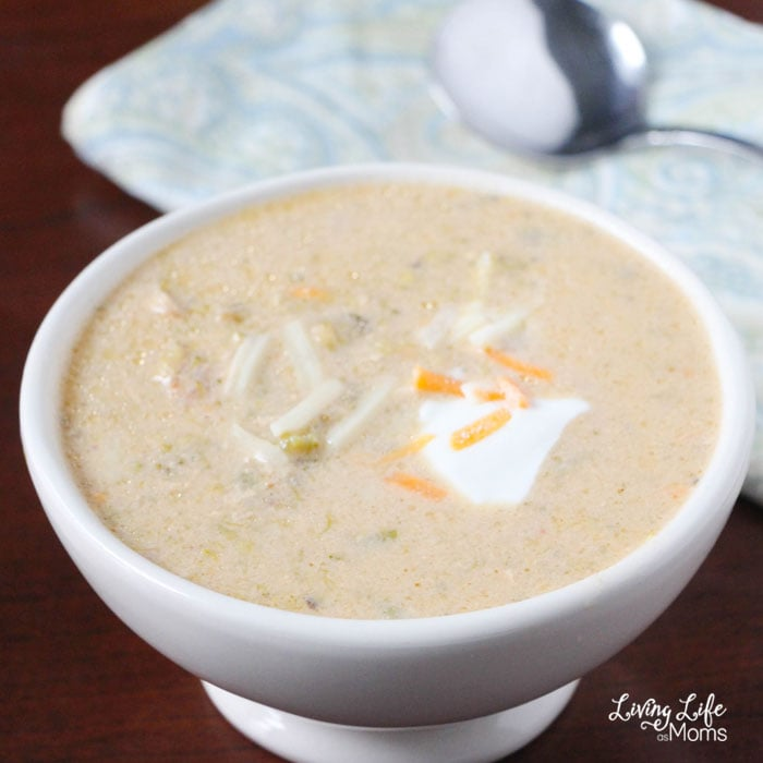 The Instant Pot is wonderful way to prepare quick one pot meals and set it and forget about it. I love having Instant Pot broccoli cheese soup on those cool days when it's rainy outside.