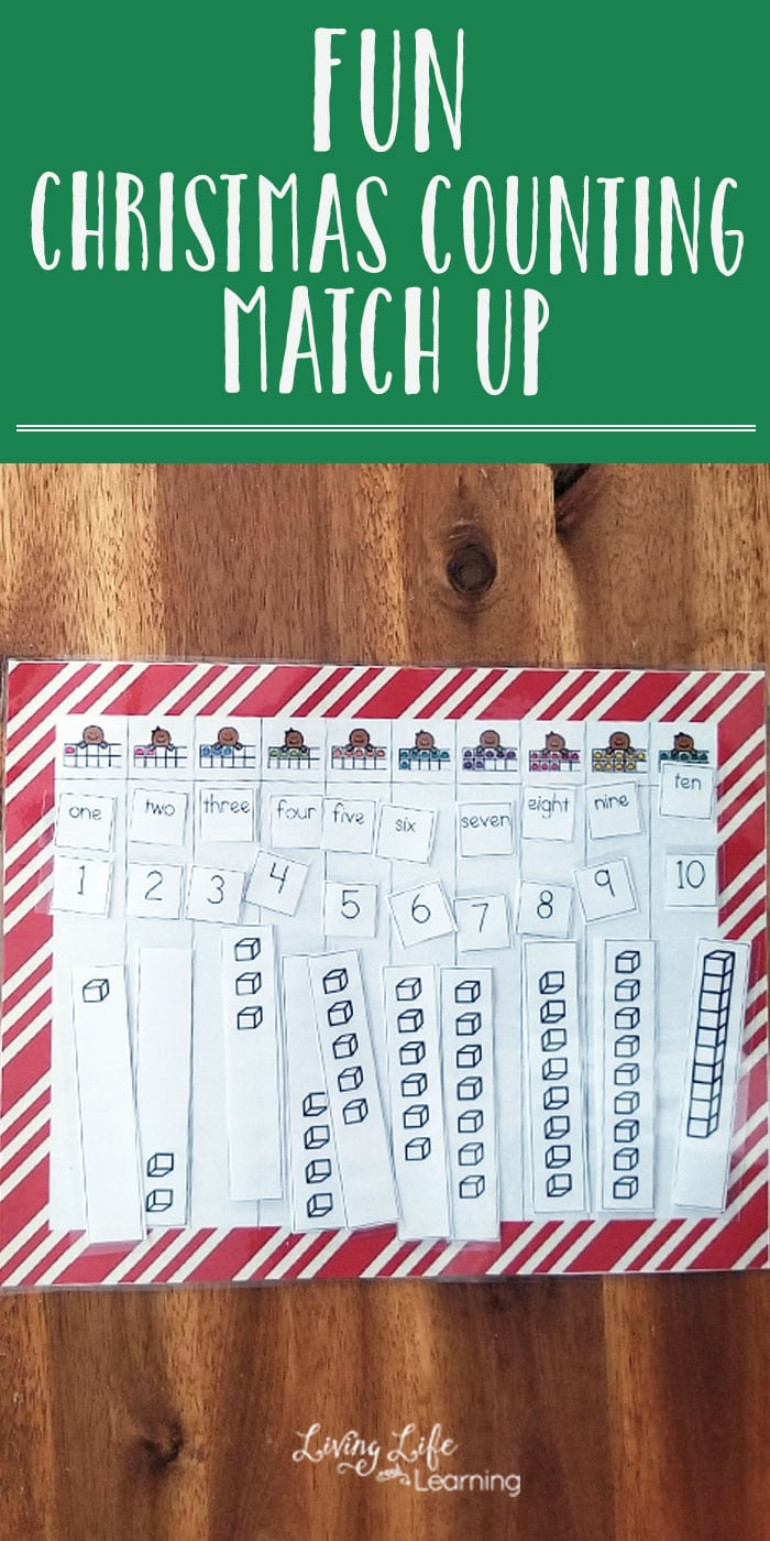 Make counting a joy when you count up to 5 and 10 - use this Christmas Counting Match Up to find the correct numbers,word and blocks as you count to 5 or 10.