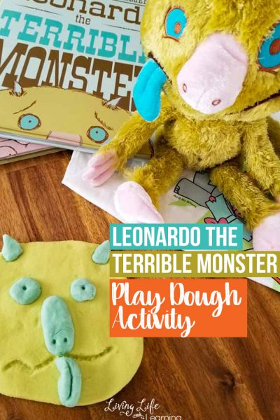 Leonardo the Terrible Monster Play Dough Activity