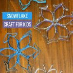 snowflake craft for kids