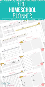 photograph relating to Free Printable Homeschool Planner known as Cost-free Printable Homeschool Planner