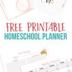 Free Printable Homeschool Planner