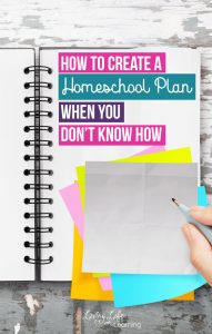 Need help? Get these tips on how to start homeschool planning when you don't know how. New homeschoolers may feel overwhelmed with all of the information out there, don't get stuck. Take it one baby step at a time to come up with a homeschool plan for your family.