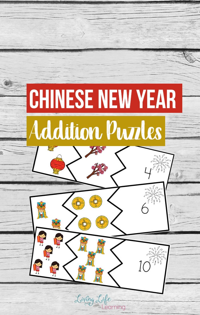 Celebrate the Chinese new year and learn math at the same time. Use these Chinese new year addition puzzles to bring the celebration into your school day. Practice adding up to 11 and there are two addition puzzles for each number.