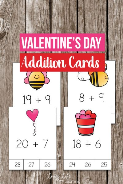 Valentine's Day Addition Cards