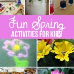 We've found our favorite Spring Activities, including science, art and crafts! These are perfect for outside on sunny days or inside on rainy days. Bring on Spring!