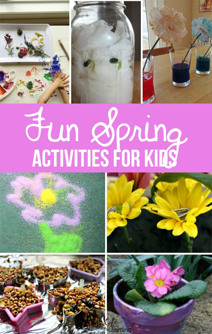 Fun Spring Activities for Kids