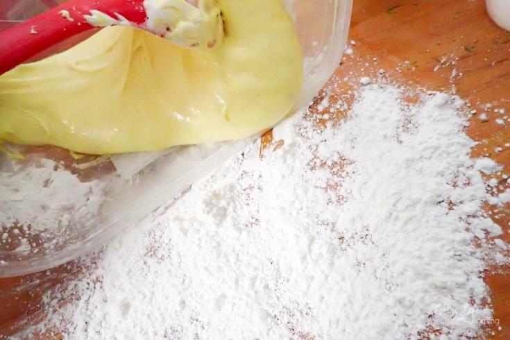 Peeps Play Dough Recipe