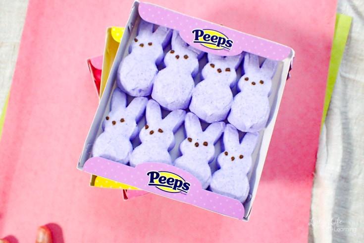 purple peeps slime recipe