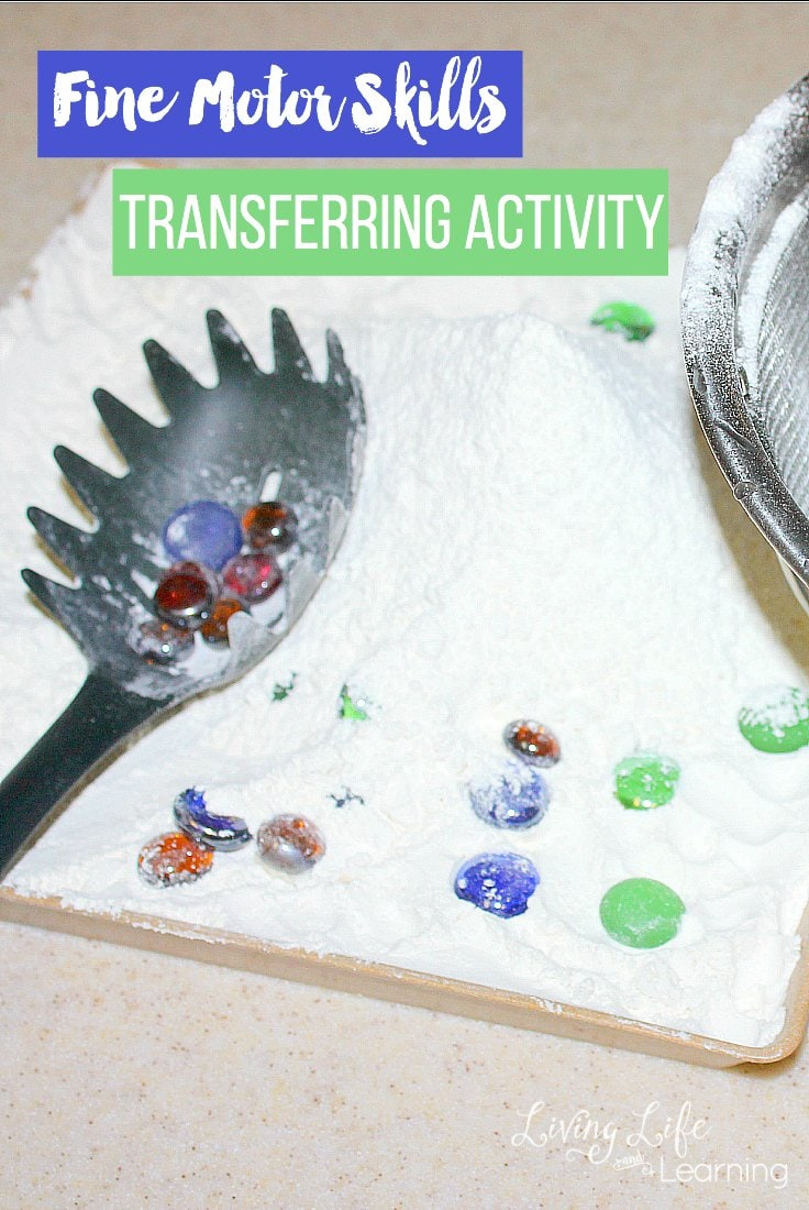 In this post, we show you a simple beginner fine motor skills bead transferring activity and important points to focus on to get the most out of it.