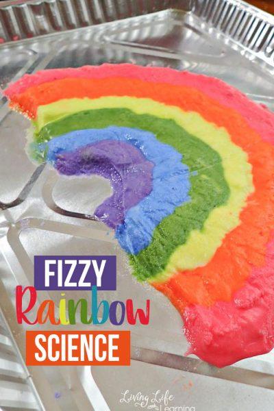 fizzy rainbow science