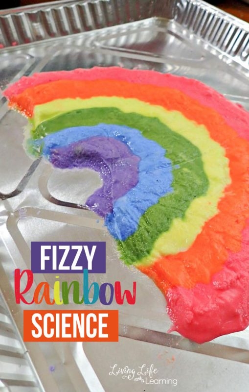 Have fun with rainbows in this fizzy rainbow science activity that is guaranteed to bring a smile to your child's face. Baking soda and vinegar experiments never get old and you can have fun with them over and over again.