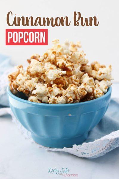 Cinnamon Bun Popcorn Recipe