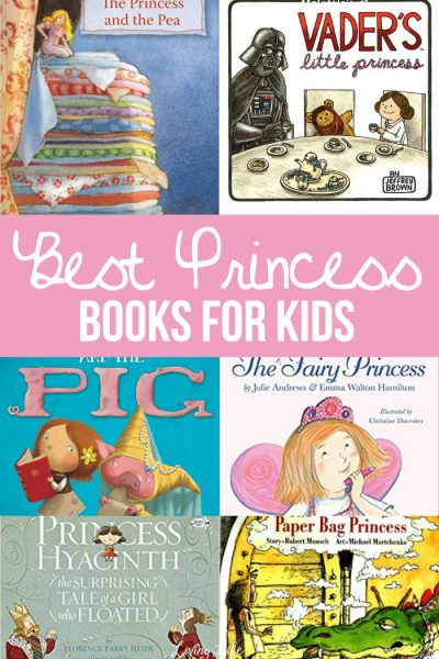 Our favorite Princess Books to read to little prince and princesses. Books are excellent for children to read or be read to, they help their brains grow and encourage imagination!