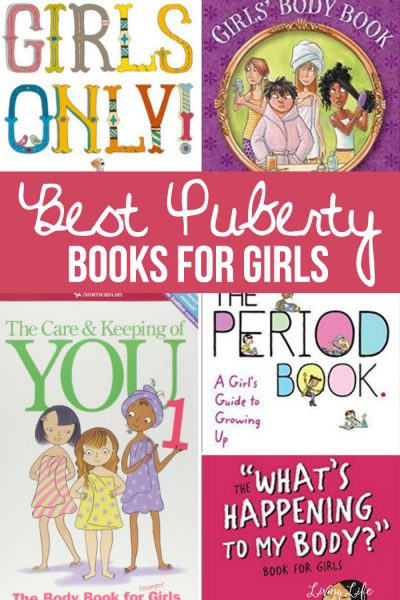 These books are my favorites for explaining puberty, the changes that occur and helping girls be strapped with knowledge for their future. These are the Best Books For Puberty For Girls that I have found and used with my own children.