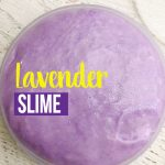 You and your kids will go crazy over this Aromatherapy Lavender Slime Recipe. Your kids will love that it is a slime that smells good and you will enjoy the calming essence that it will have on your kids!