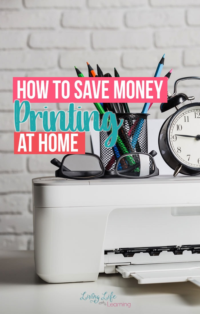 How to Save Money Printing at Home