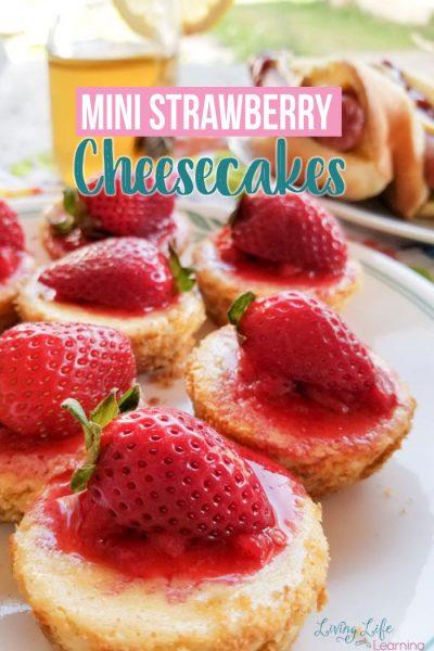 Mini Strawberry Cheesecake Recipe