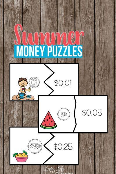 Summer Money Puzzles