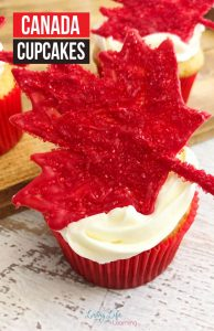 A delicious cupcake recipe that is perfect for Canada Day. This Canada Cupcake recipe is one that you'll want to make year after year!