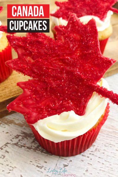 Delicious Canada Cupcakes