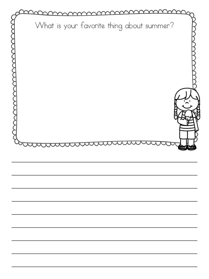 How to Make Printables in PowerPoint - Writing Worksheet