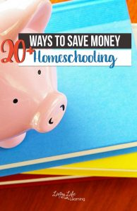 Have you ever thought about how you can save money homeschooling? Here are 20+ ways to make it easy for you to save money homeschooling.