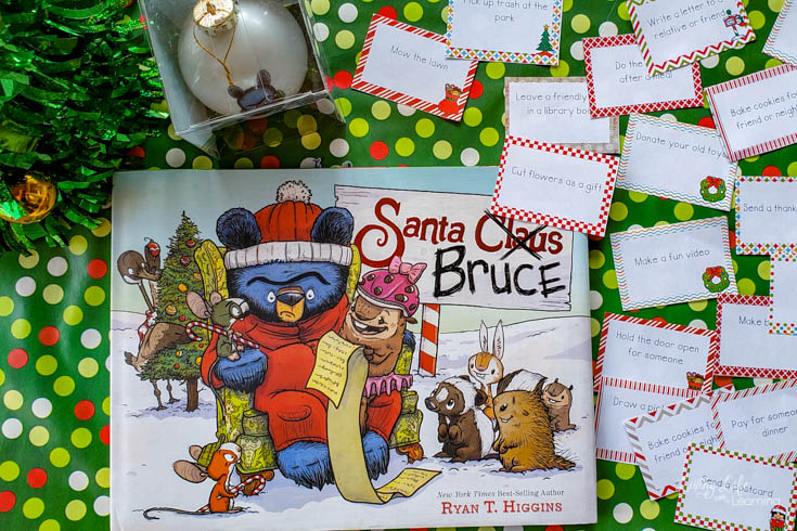 Acts of Kindness Printable Cards Inspired by Santa Bruce