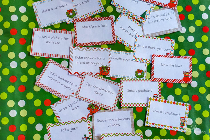 Acts of Kindness Printable Cards