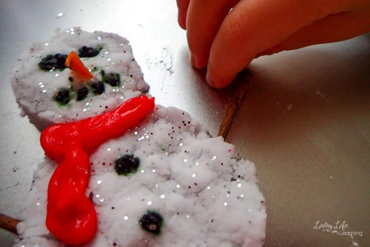 snowman science experiment