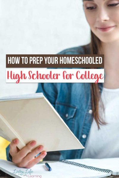 If your homeschooled high schooler is getting ready for college, it's important to help them be ready! These tips can help both you and them prepare!