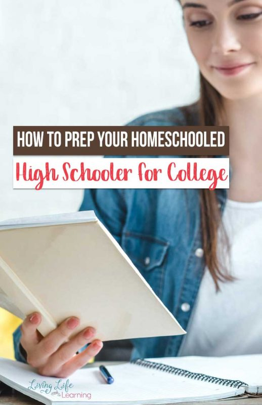 If your homeschooled high schooleris getting ready for college, it's important to help them be ready! These tips can help both you and them prepare!